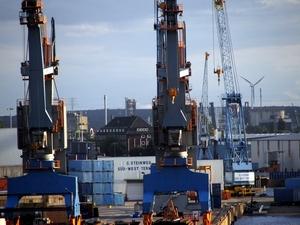 Steinweg Terminal Hafen Hamburg