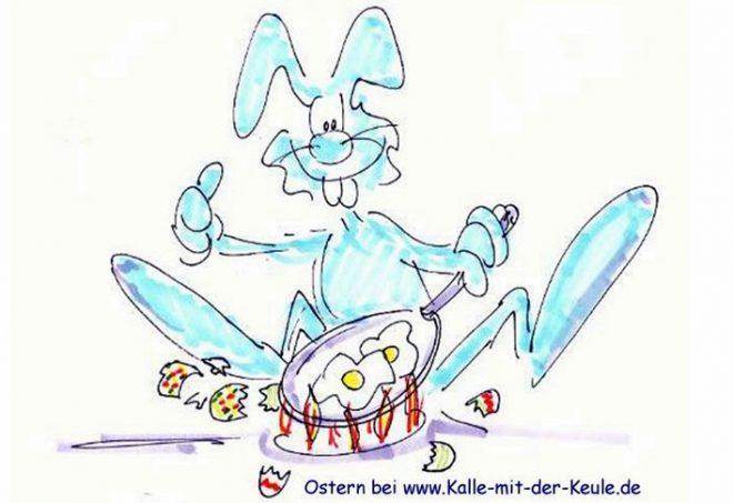 Cartoon Ostern