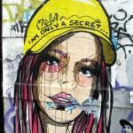 Geheimnis Streetart: Tapetentechnik :-)