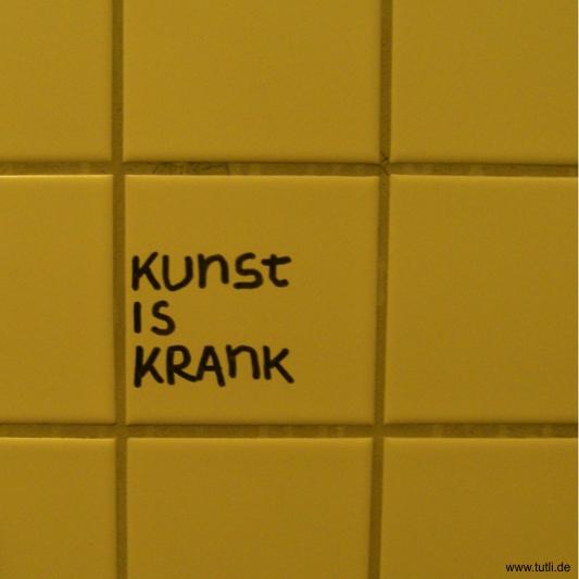 Kunst Klospruch Kassel