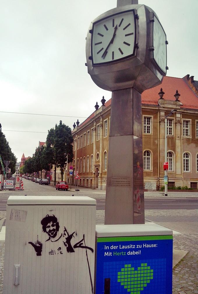 Street Art: Stencil in Cottbus