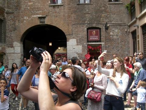 Gebäude Julia und Romeo Reisetipps Verona