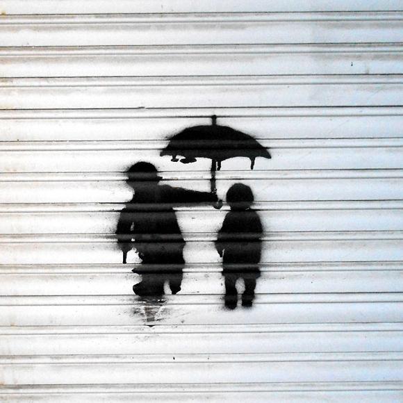 Stencil Berlin Streetart