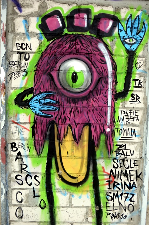 Street Art Graffiti Berlin 2014