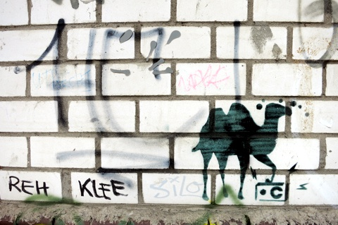 Kamel Stencil :-)