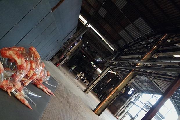 Ausstellung Skulpturen Büdelsdorf: viel Platz, schon deshalb eine Empfehlung Kunst in Schleßwig Holstein