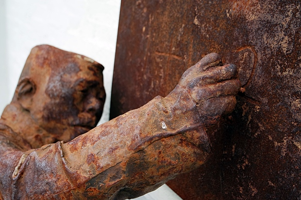 Lehrer Skulptur