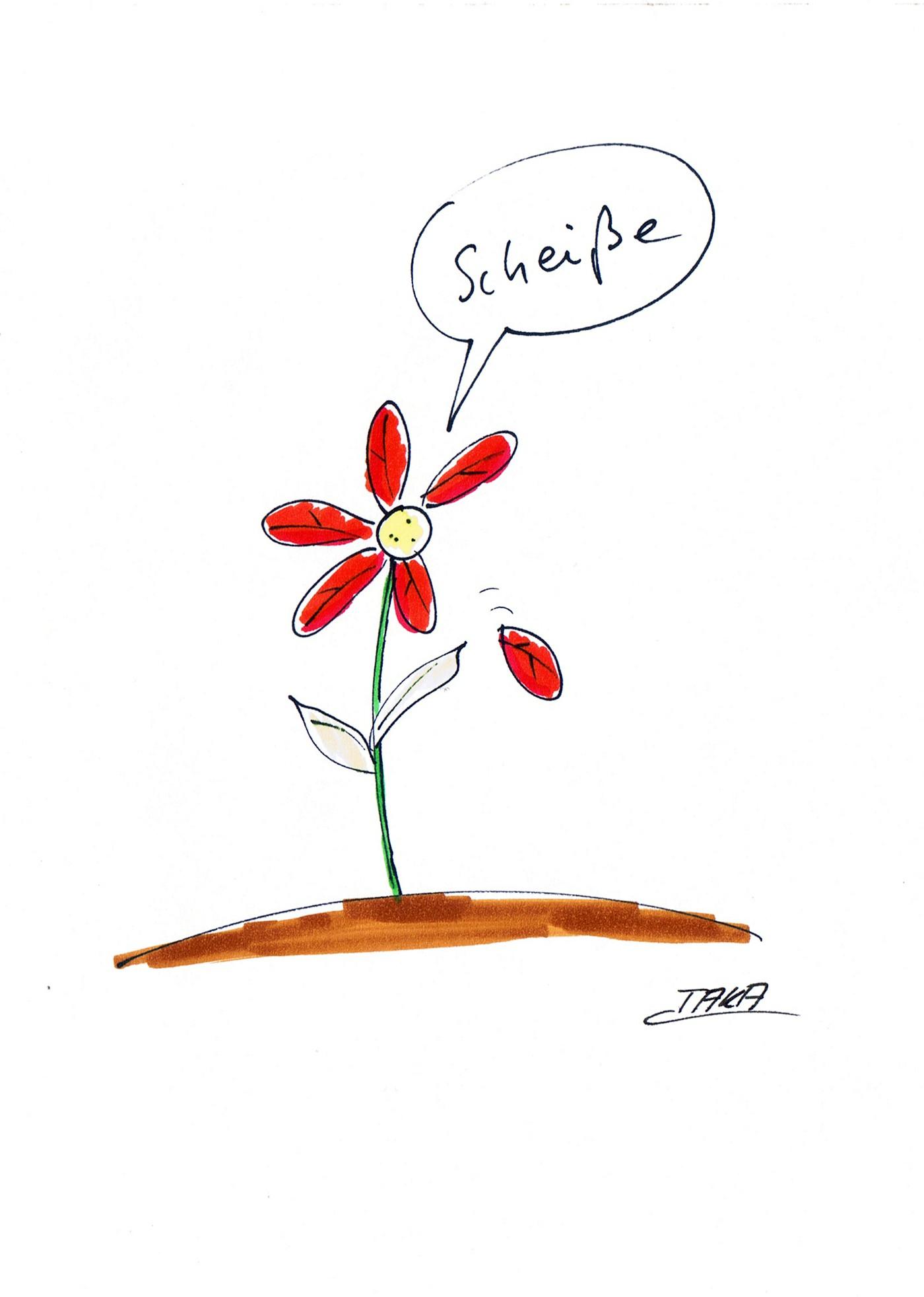 Bildergebnis fr lustige animation fr Blume