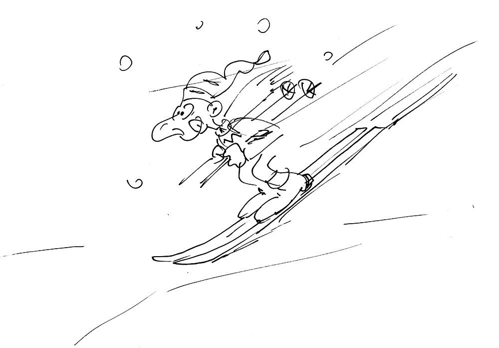 ski lustig